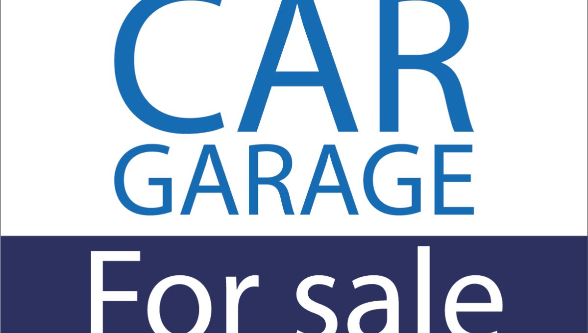 Car garage for sale