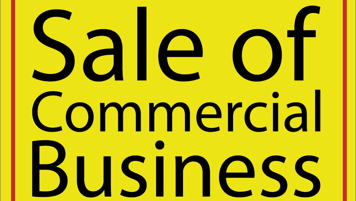Sale of Commercial Business