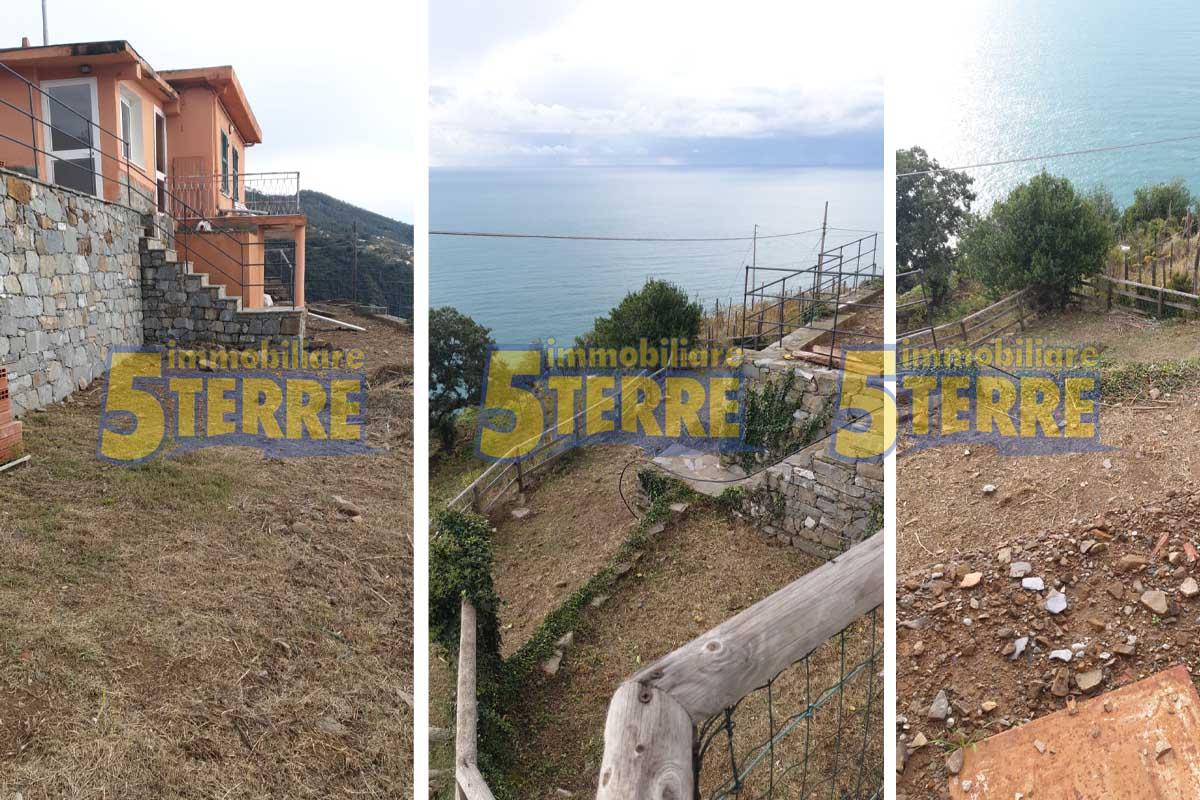 Riomaggiore casa con vista (cod. 649)
