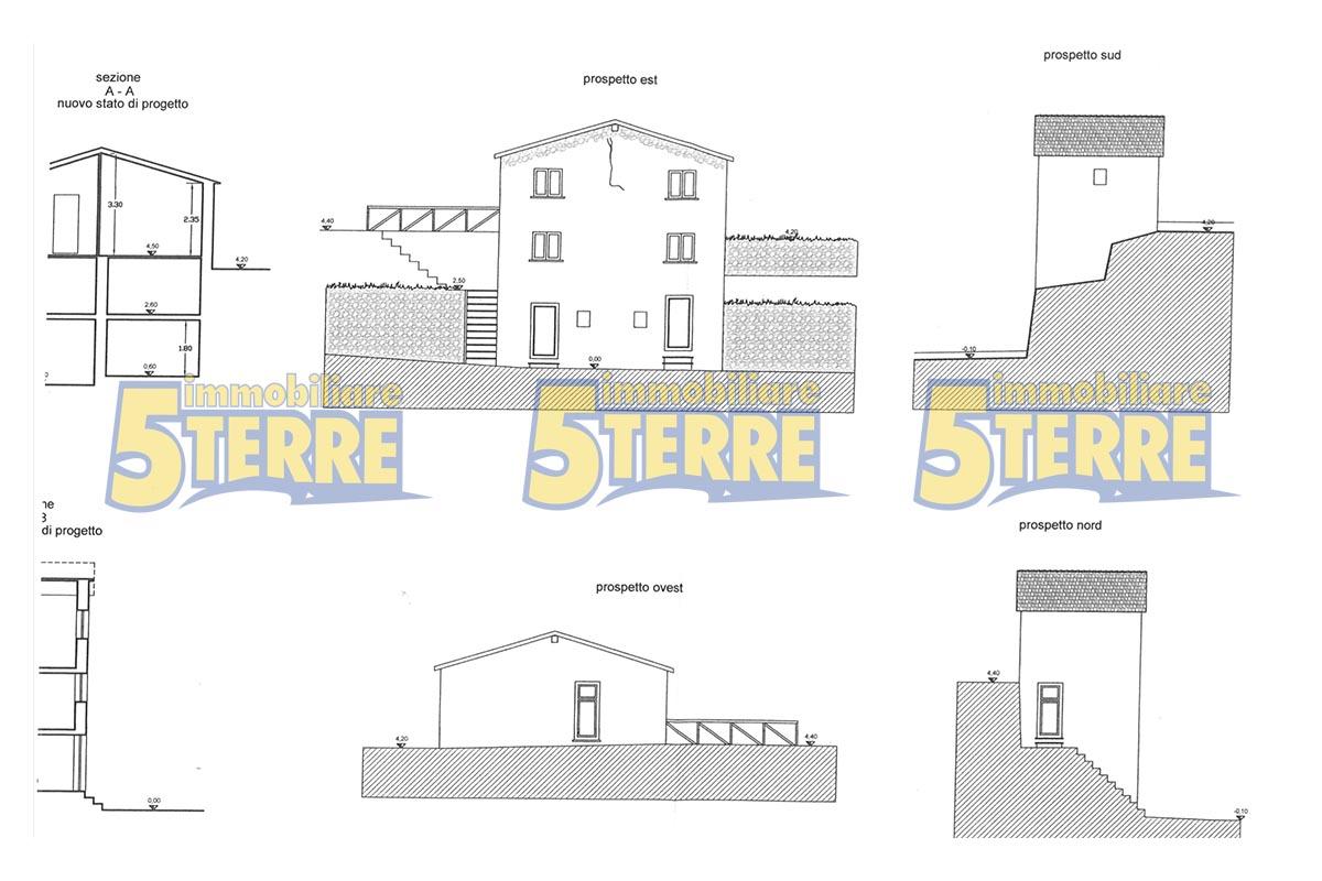 MONTEROSSO casa indipendente nel verde (cod. 030)